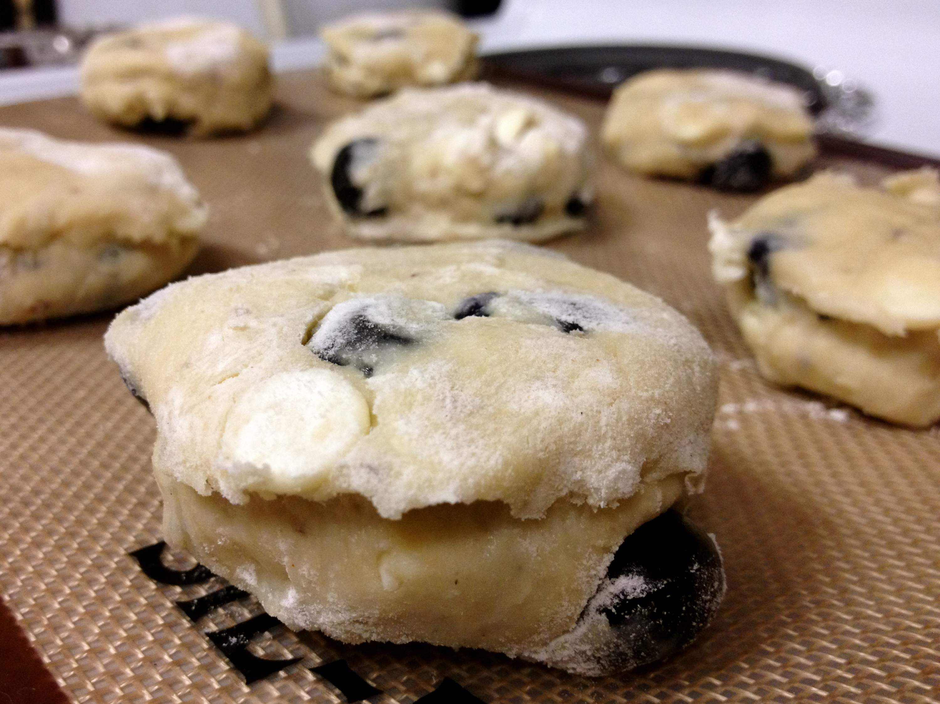 blueberry white chocolate white chocolate blueberry blueberry white ...